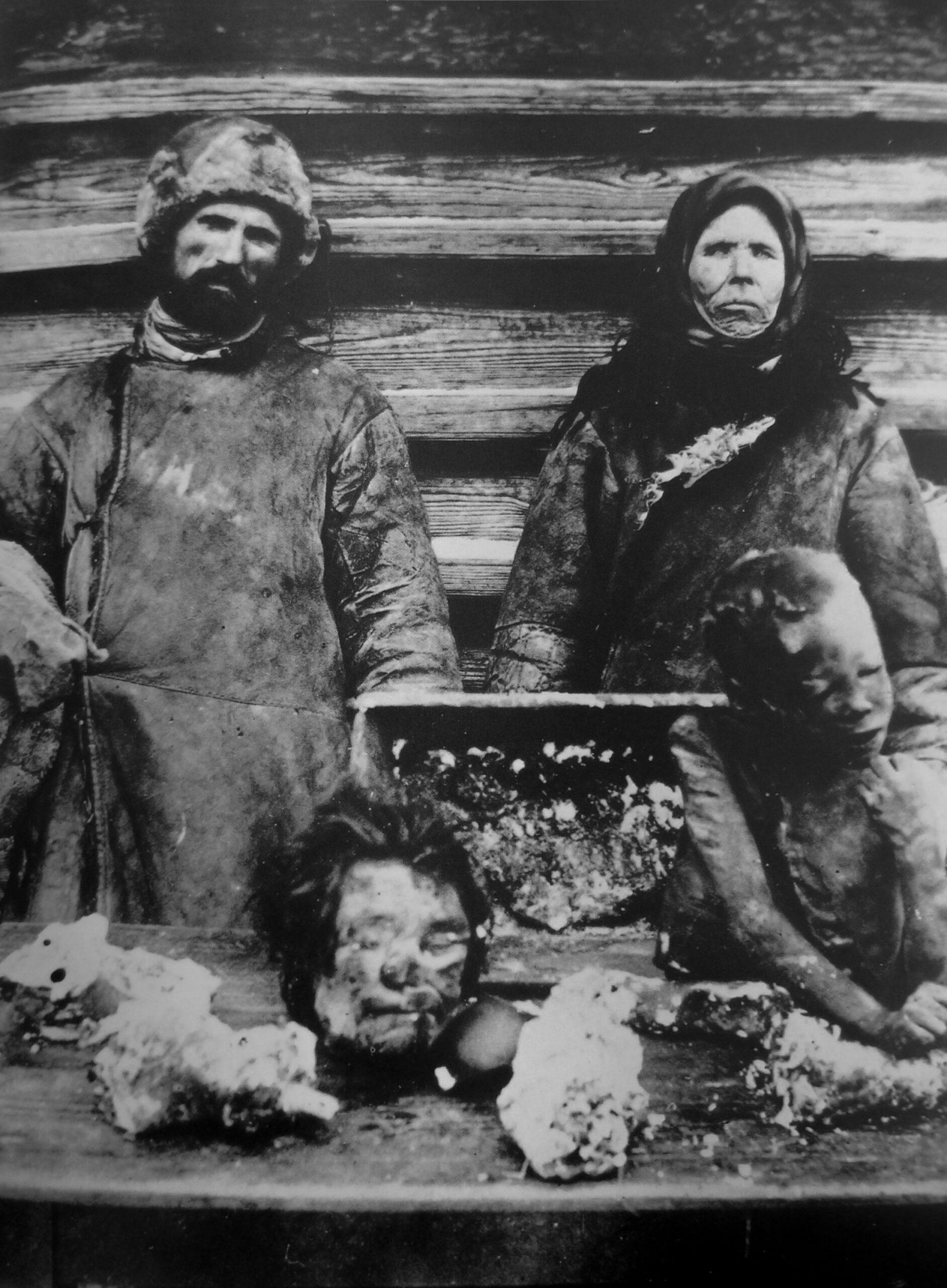 Kanibalismus Rusko