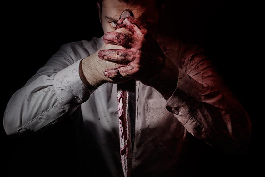 Krev vrah nuz
