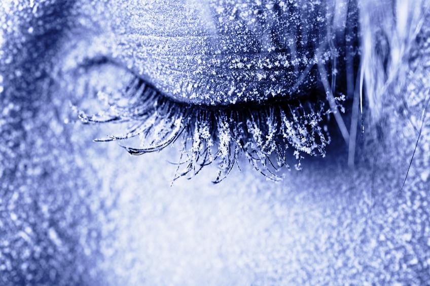 Zmrzla divka