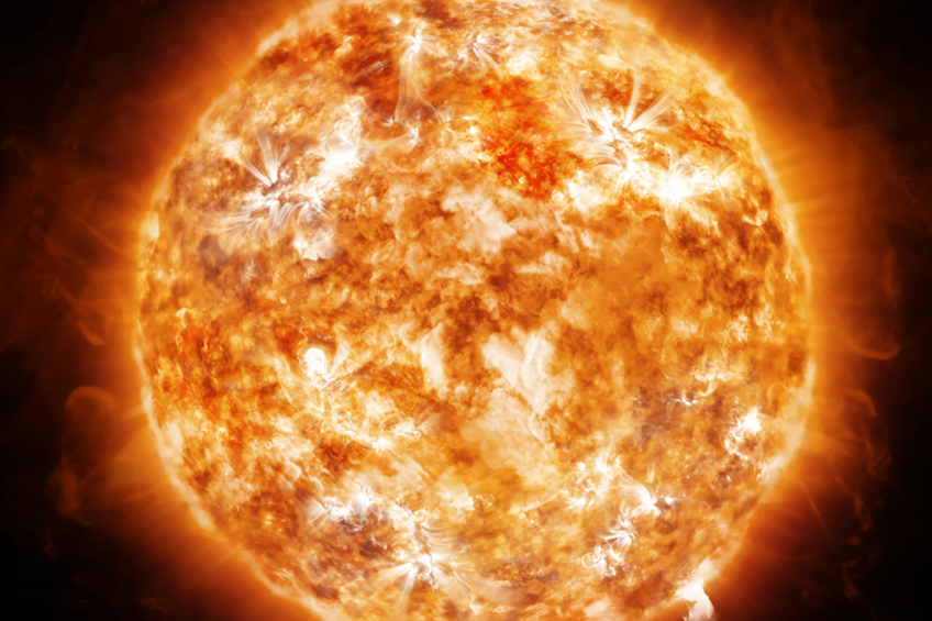 Exploze slunce
