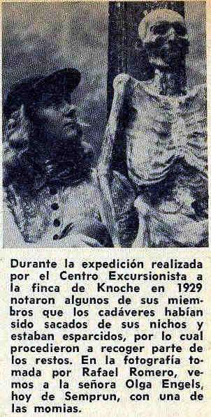 Mumie Knoche