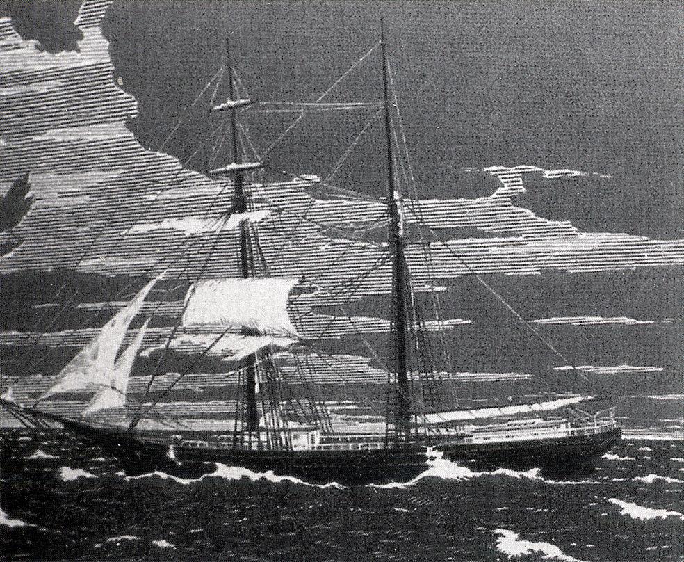 Mary Celeste engraving